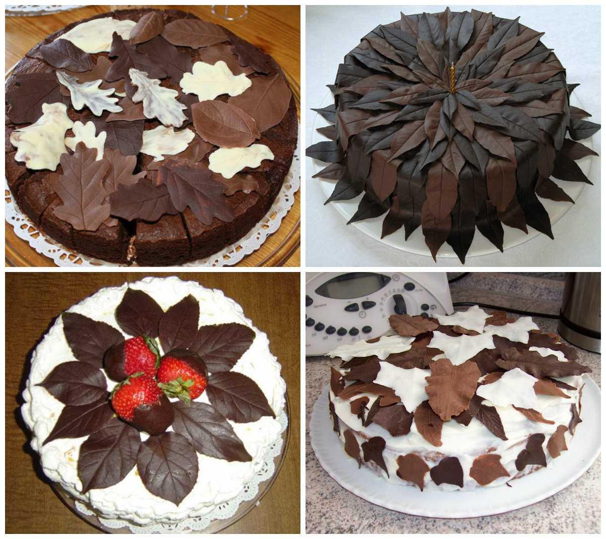Как украсить бисквитный торт в домашних условиях: рецепты и идеи