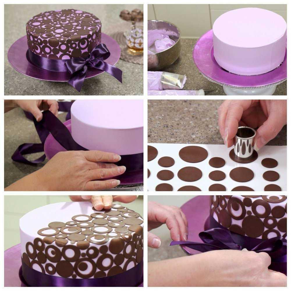 Декор тортов – мастер-класс оригинального оформления и способы декора (75 фото и видео)