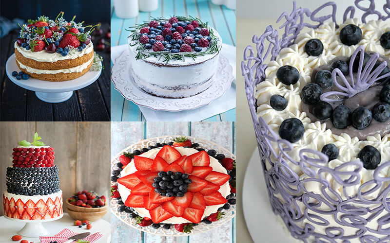 Как украсить торт в домашних условиях   моя кухня