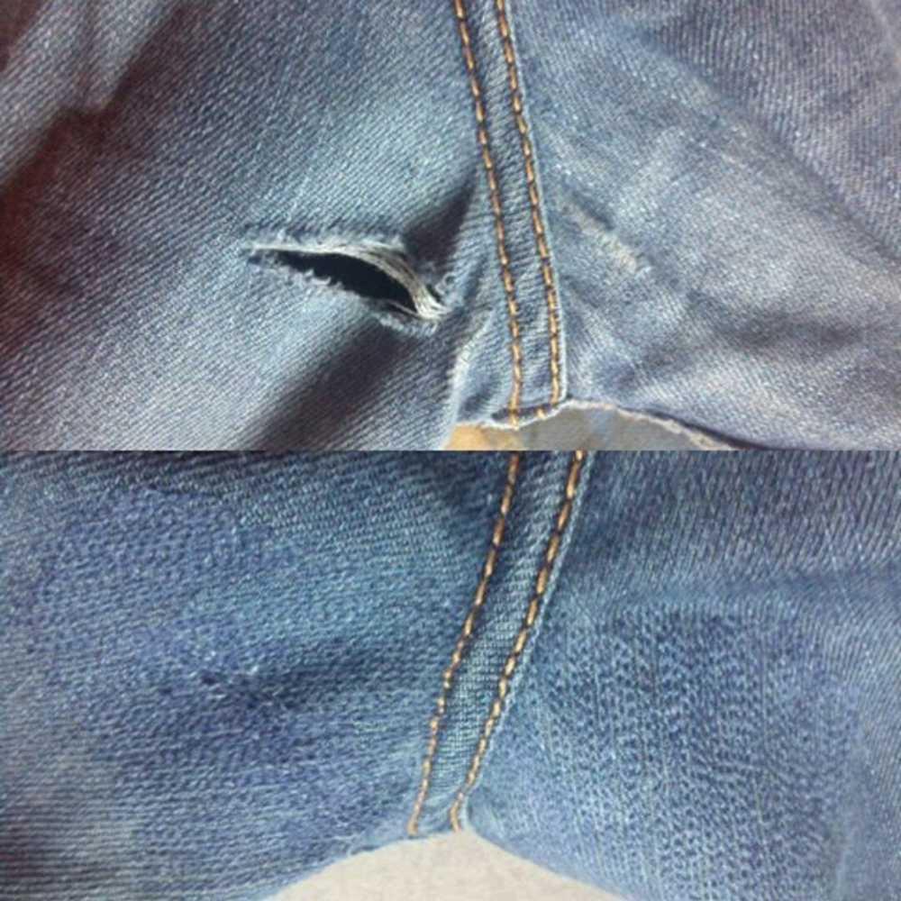 как на коленке джинс зашить дырку